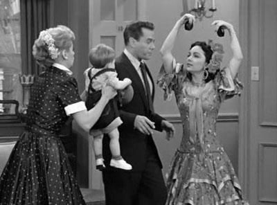 Ricky's Old Girlfriend - dream sequence where Lucy makes Ricky choose between his family and Carlotta