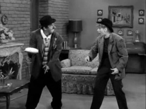 I Love Lucy - The Ballet - slowly I turned - Lucy about to get a pie in the face!