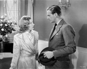Irene Dunne and Douglas Fairbanks Jr. in Joy of Living