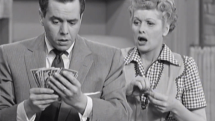 The Kleptomaniac - Ricky finds Lucy's stash of cash