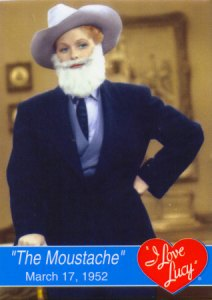 I Love Lucy - The Moustache