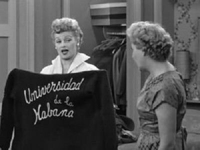 Changing the Boys' Wardrobe - Lucy and Ethel go over some of their husbands' old clothes, such as Ricky's old jacket