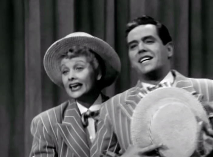 The Benefit - I Love Lucy - Lucille Ball verbally makes mincemeat of Desi Arnaz