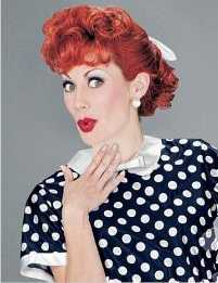 Lucille Ball / Lucy Ricardo /I Love Lucy wig