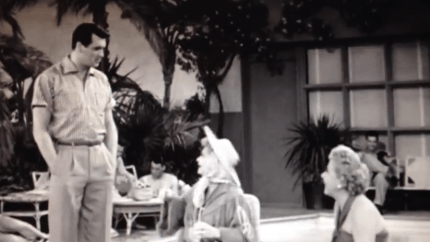 In Palm Springs - Rock Hudson, Lucille Ball, Vivian Vance