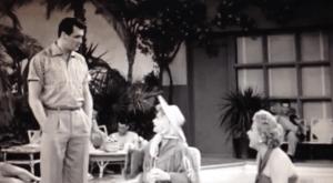 In Palm Springs - Rock Hudson, Lucille Ball, Vivian Vance