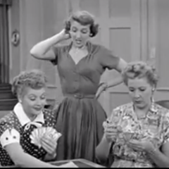 Lucy is Matchmaker - Lucy, Ethel and Carolyn Appleby are complaining about the attention their husbands gave to a single friend