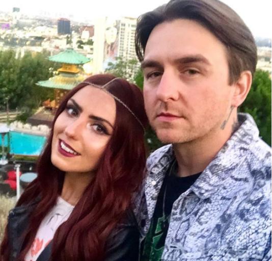 Matt Nicholls with his beautiful Girlfriend Chloe Mellors