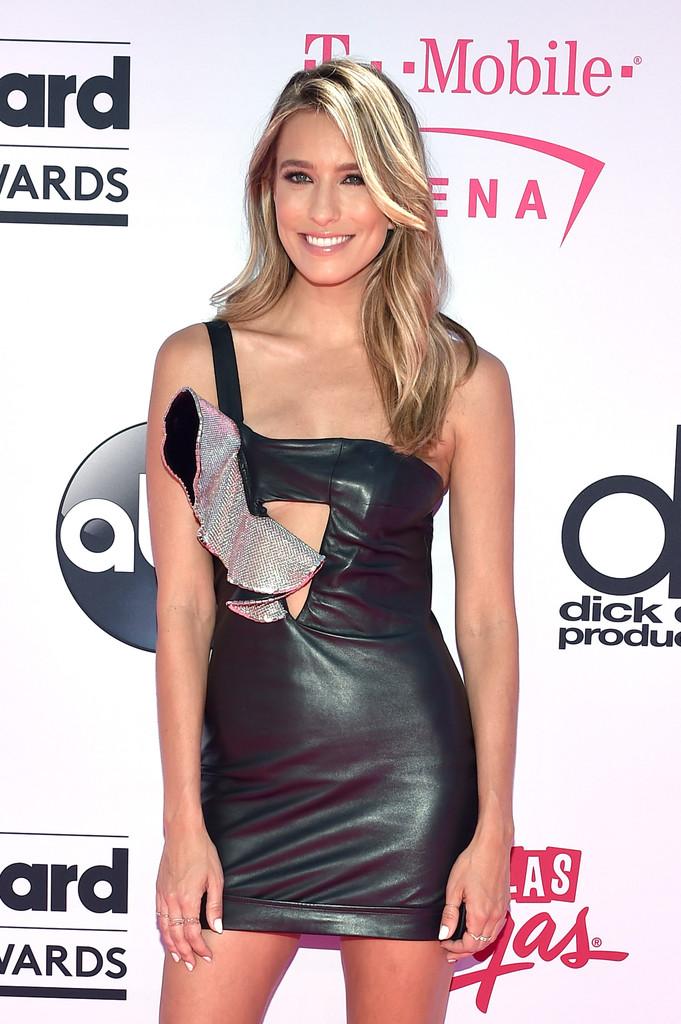 Renee Bargh - Leather Mini Dress