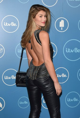 Amy Willerton - Leather Pants
