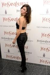 Nicole Trunfio - Leather Top & Pants
