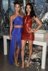 Shanina Shaik - Mini Dress