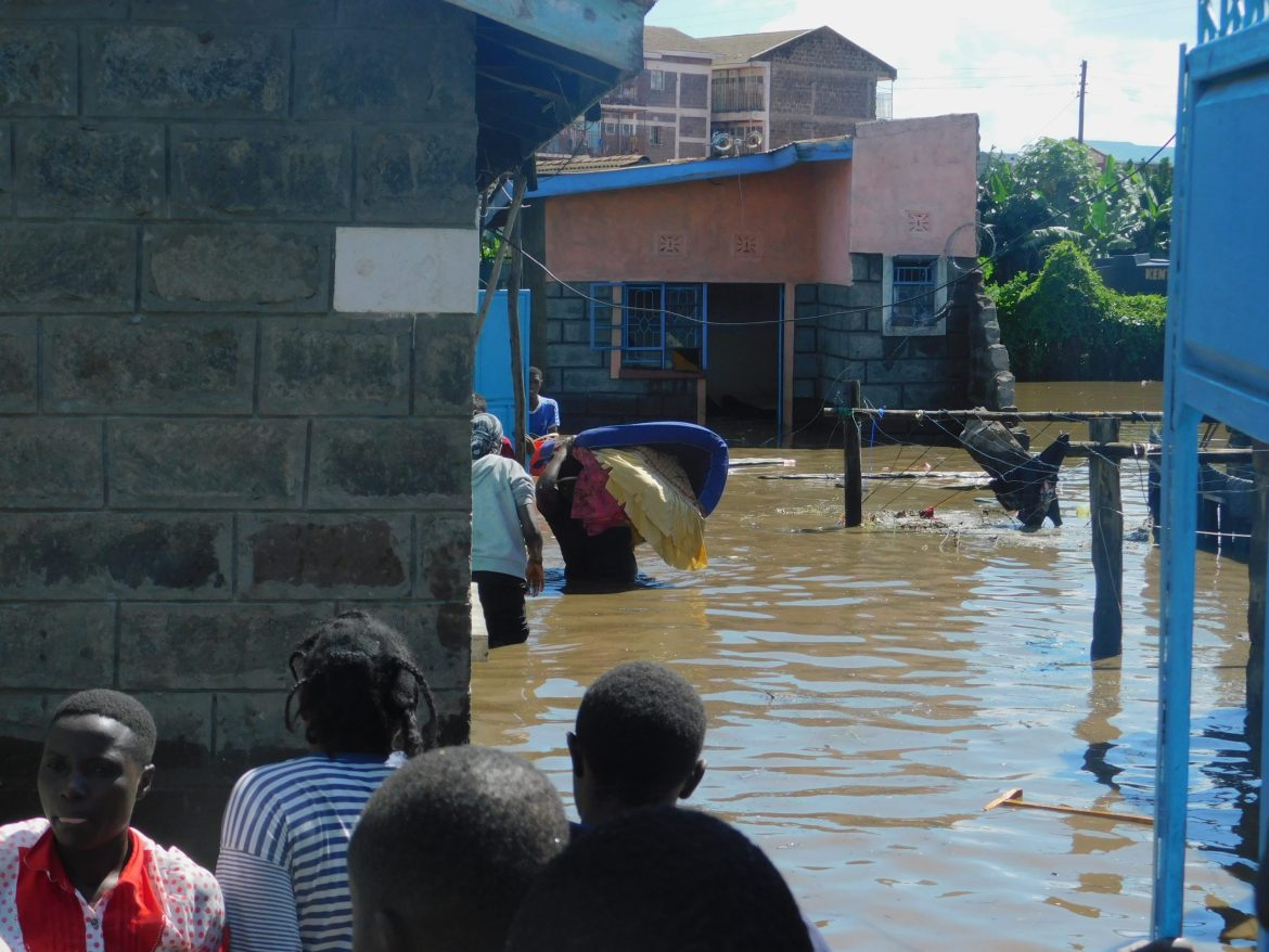 Photos: Floods wreak havoc in Mwariki, Pondamali