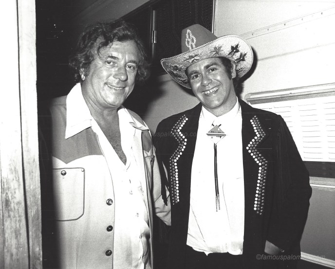 Elton John and Tommy Thomas