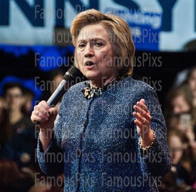 FamousPix: 04/20/2016 - Hillary Clinton Campaigns in Philadelphia &emdash; Hillary Clinton