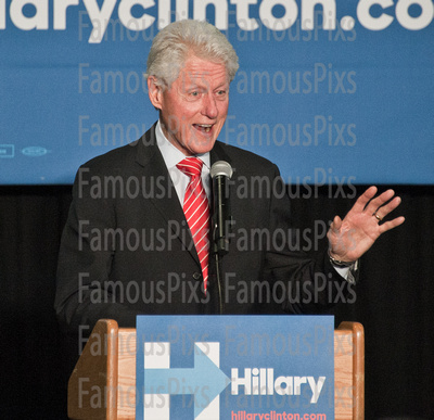 FamousPix: 04/07/2016 - Bill Clinton Campaigns for Hillary Clinton in Philadelphia &emdash; Bill Clinton