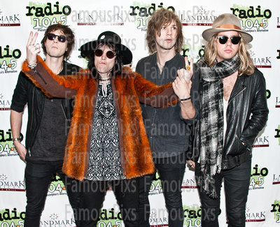 FamousPix: 10/24/2015 - The Struts Visit Radio 1045 &emdash; The Struts
