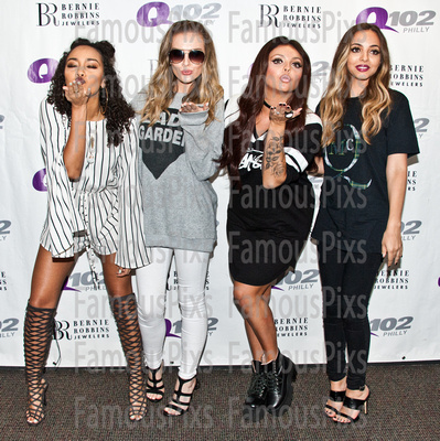 FamousPix: 09/10/2015 - Little Mix Visit Q102 &emdash; Little Mix