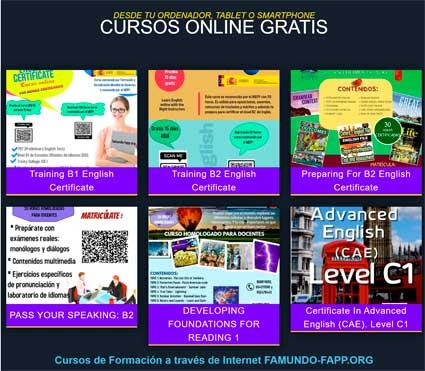 Cursos gratis inglés