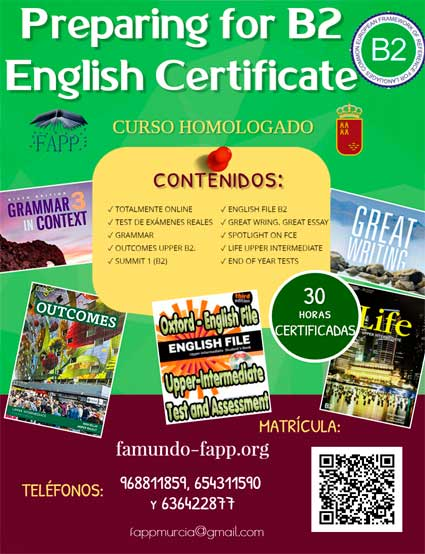 Preparing for B2 English Certificate