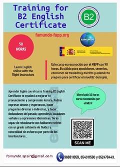 Training B2 English Certificate