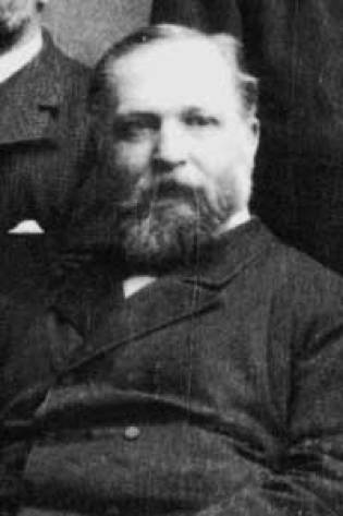 Wilhelm Feltmann. Heineken's first Masterbrewer from 1869 to 1897