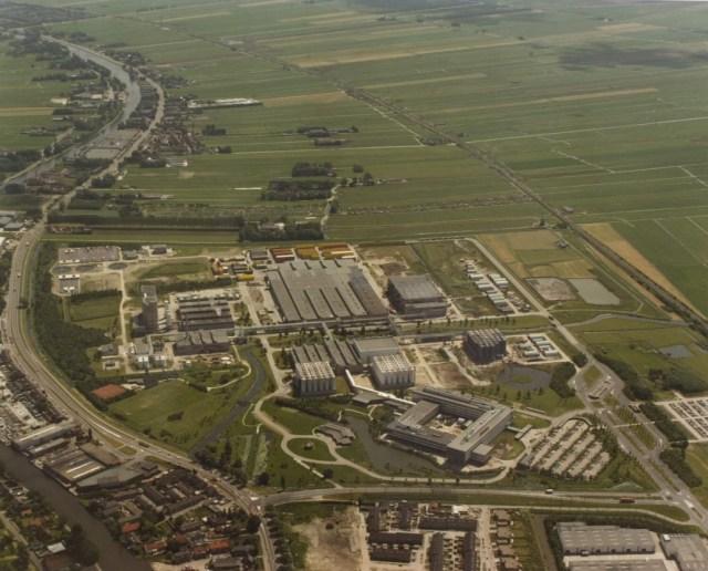 Birdview of the Brewery in Zoeterwoude