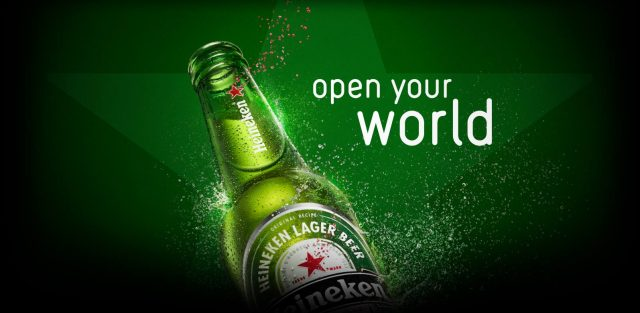 Heineken Open your World Campaign