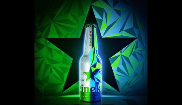 Heineken 'lights up the night' with designer club bottle
