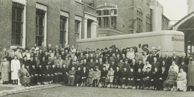All employees of the Heineken Brewery in Rotterdam