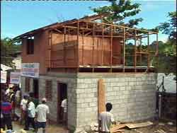 Payatas - home construction 1