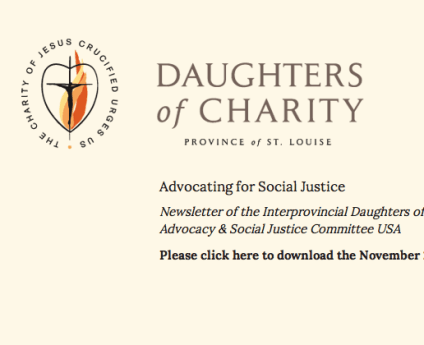 What the Daughters of Charity pray about