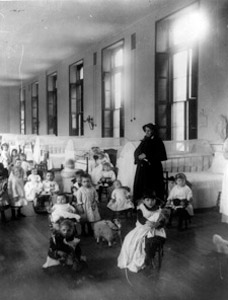 Mother Irene, SC and the historic NY Foundling Hospital