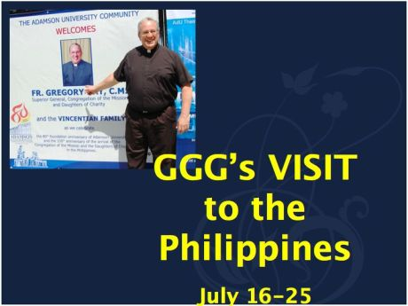 Fr. Greg Gay's Recent Visit to the Philippines