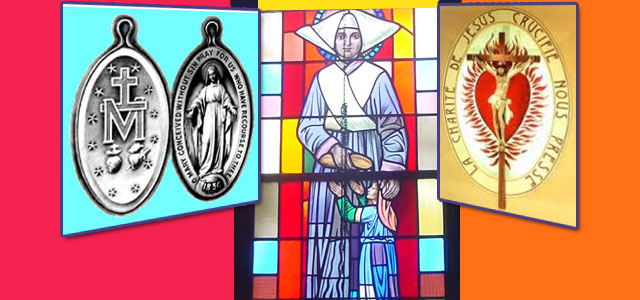 Catherine Laboure, Miraculous Medal feature