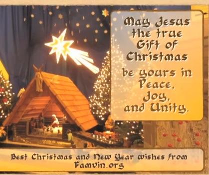 famvin christmas 2012