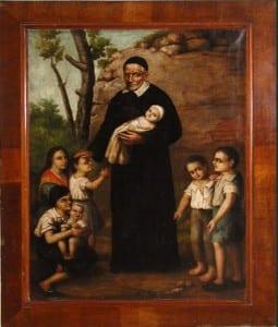 Vincent de Paul with children