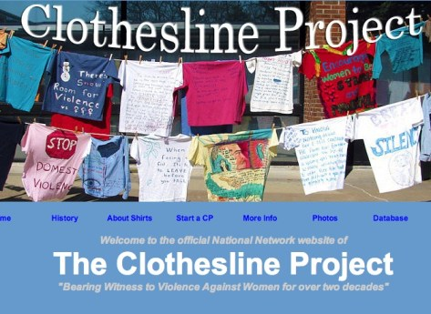 When clotheslines speak! – LCUSA and STJ