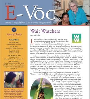 """""""Wait-Watchers"""" discernment"""