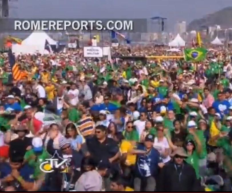 WYD – world's largest flash mob