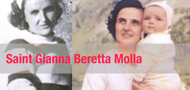 "Physician – ""Working Mom"" –  Saint Gianna Beretta Molla"