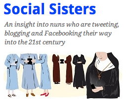 Five most followed Nuns on Twitter