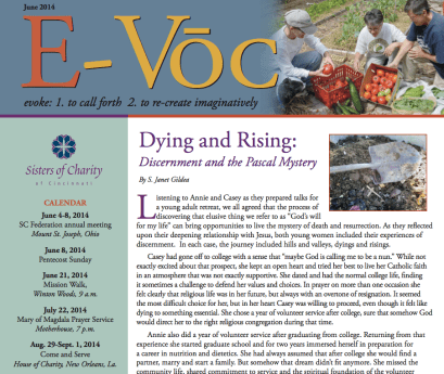 Dying and Rising: Discernment and the Pascal Mystery