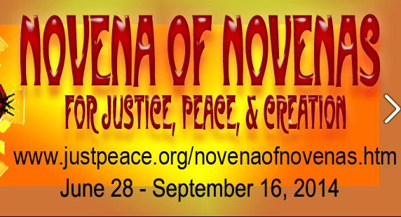 A Novena of Novenas  for Justice, Peace, Creation