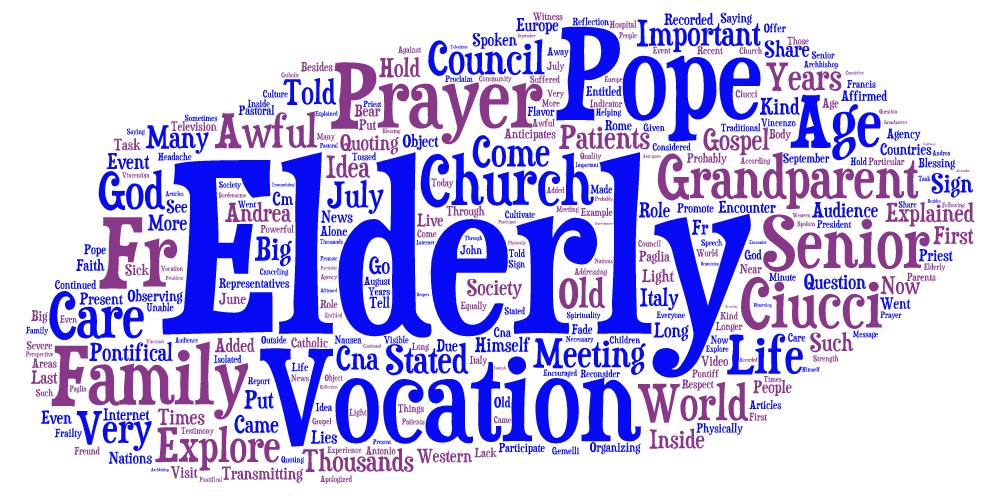 Francis on senior vocation