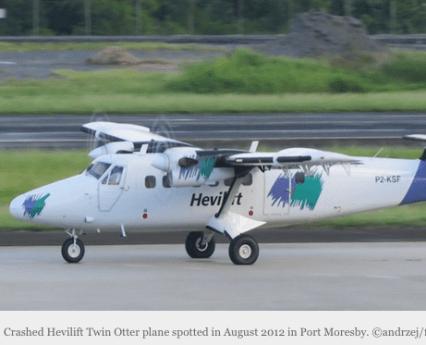 Plane crash at Vincentian Mission in Papua New Guinea