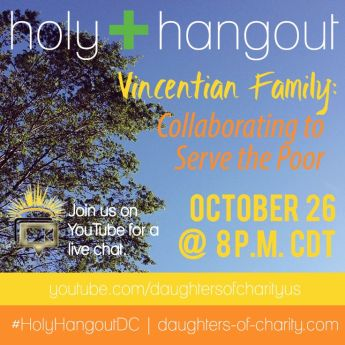 A Holy Hangout with the Vincentian Family