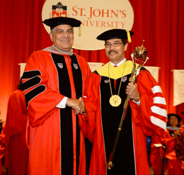 Investiture of new President of SJU