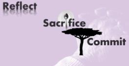 reflect sacrifice commit