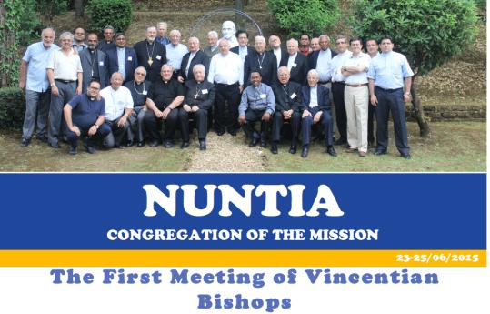 Historic meeting of 22 Vincentian Bishops